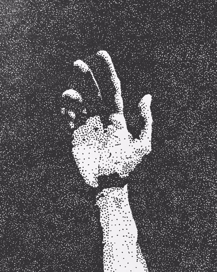 Hand, pen ink, 8/11/17 jomartin - jomartinusen   ello