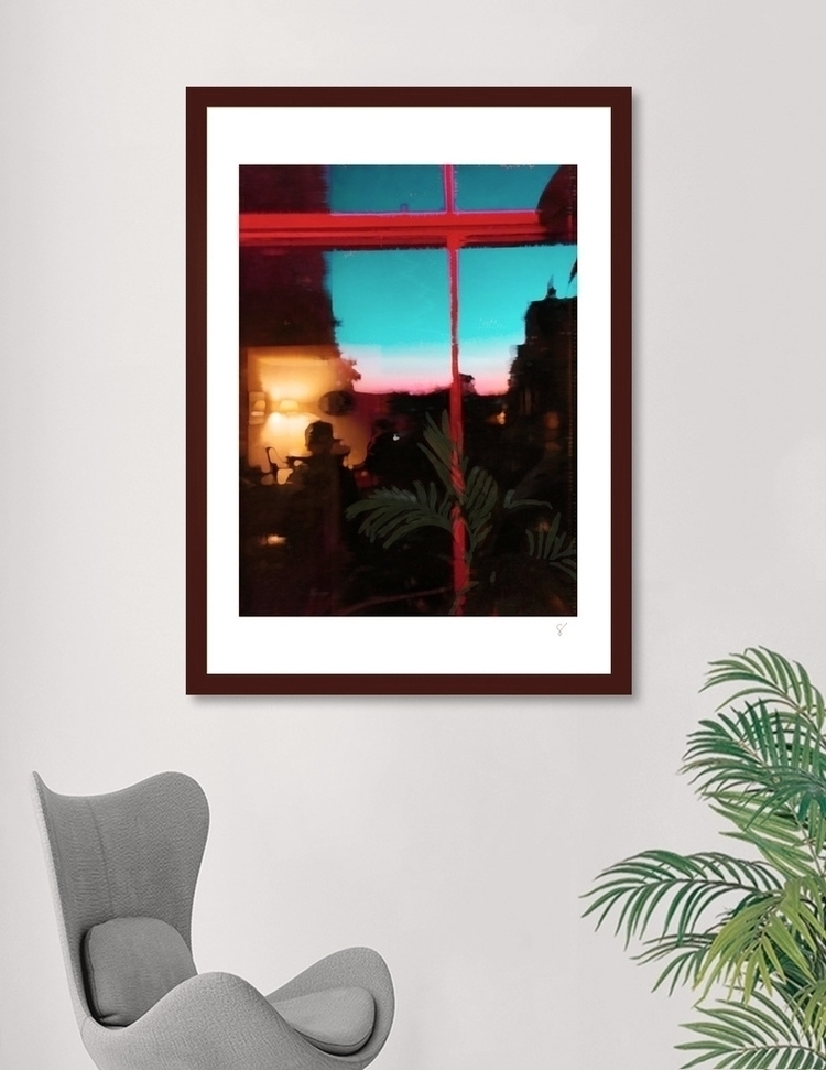 Window 3. Art prints Curioos - graphicart - gregsted | ello