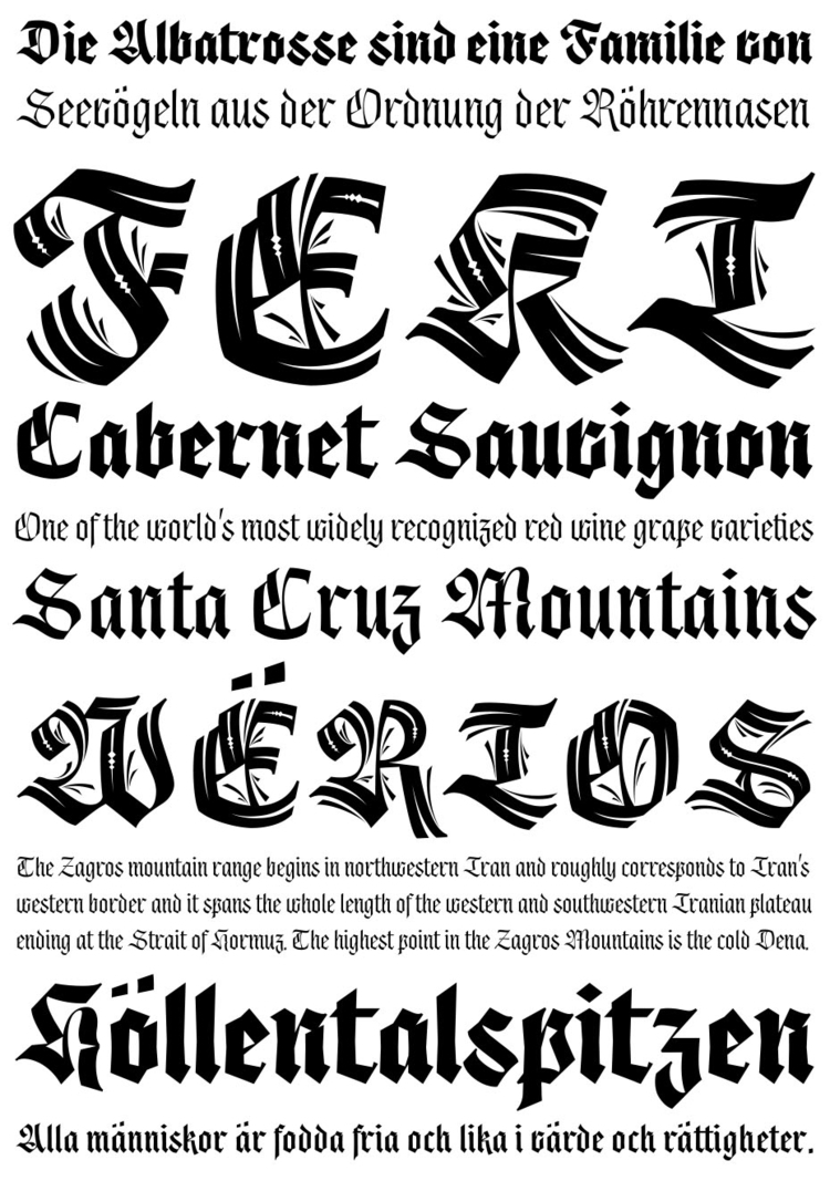 Origen Typeface typeface inspir - alexcamachostudio | ello