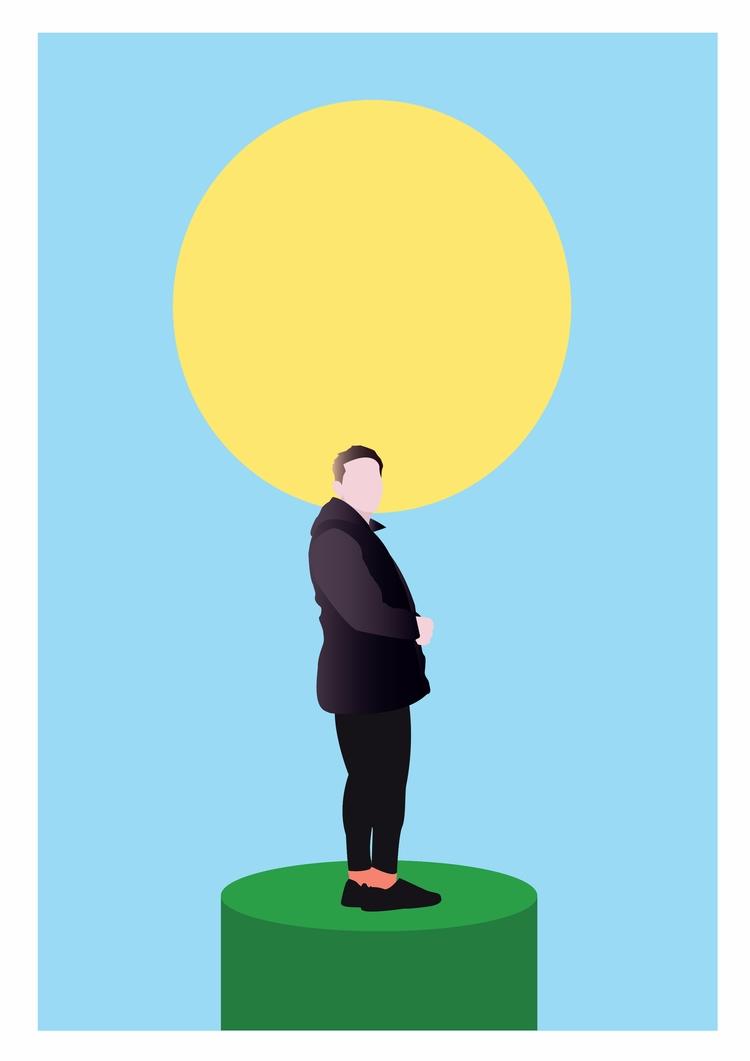 salgas al sol - ilustración, ilustration - multiplicidad | ello