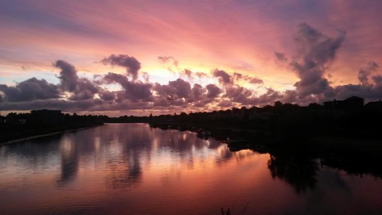 Zonsondergang Leiderdorp, Holla - huis-tuin-en-keukenfotograaf | ello