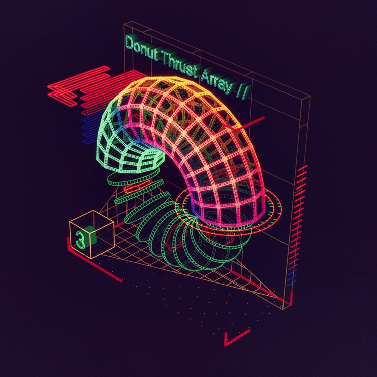 Donut Thrust Array  - ui, hologram - mjmurdock | ello