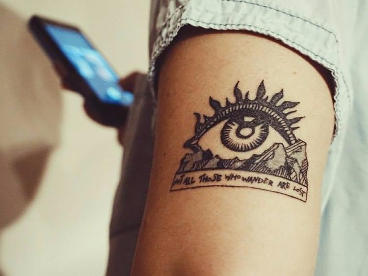 tattoo, tattooart, tolkien - ernaart | ello