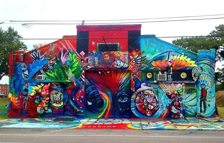 streetart, mural, philadelphia - zenwheely | ello