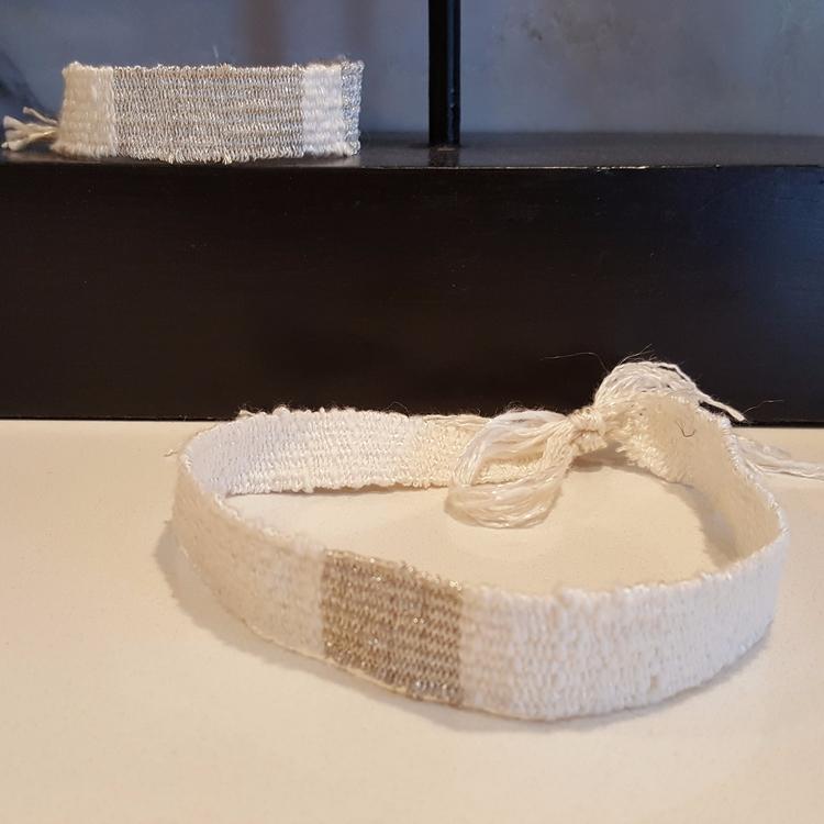 Woven choker necklace set - woodrowandco | ello