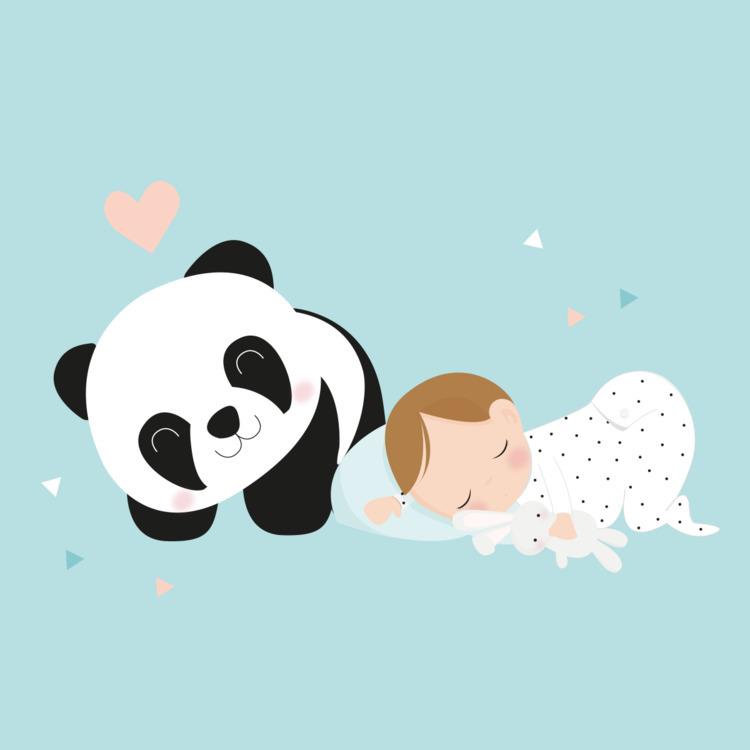 dreaming - baby, illustration, digitalillustration - roserolivella | ello