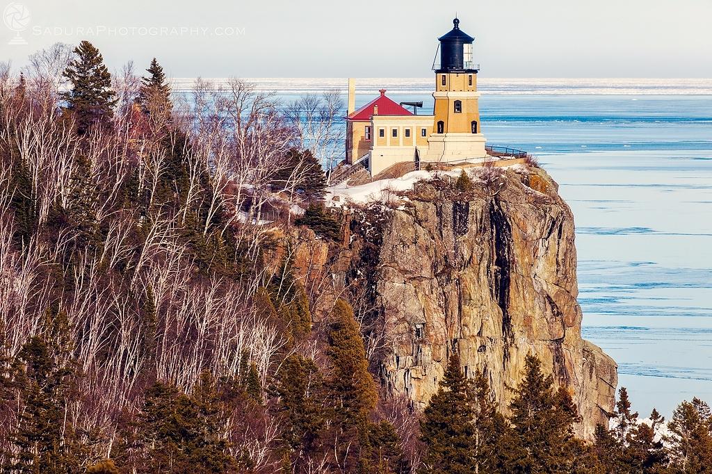 Split Rock Lighthouse Silver Ba - hsphotos | ello