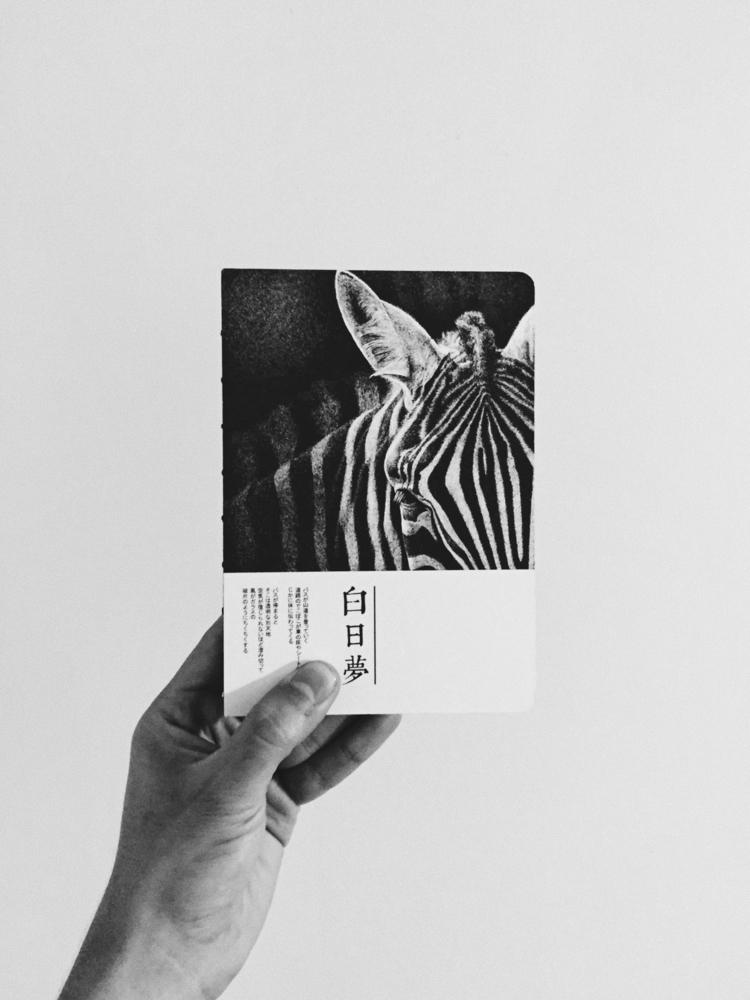 • ゼブラノート - book, black, white, photography - paulomartinez   ello