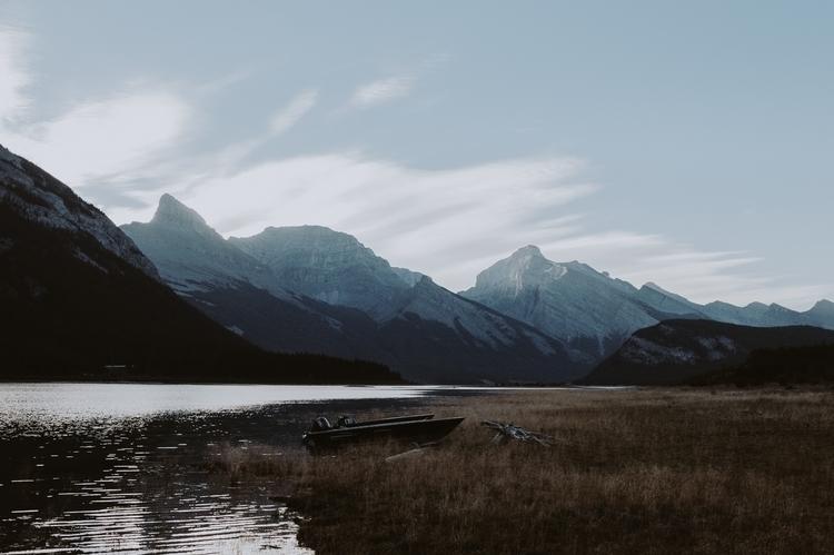 Spray Lakes Reservoir forgotten - photograthie | ello