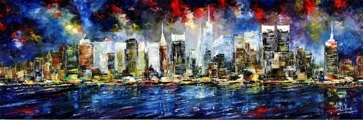 Omaggio NY Le Torri Bruno Oil C - bitfactory | ello