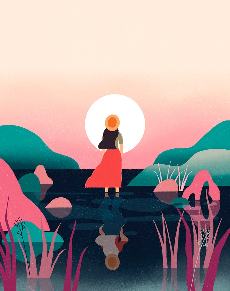 Voyager - illustration, Weekend - geraldinesy   ello