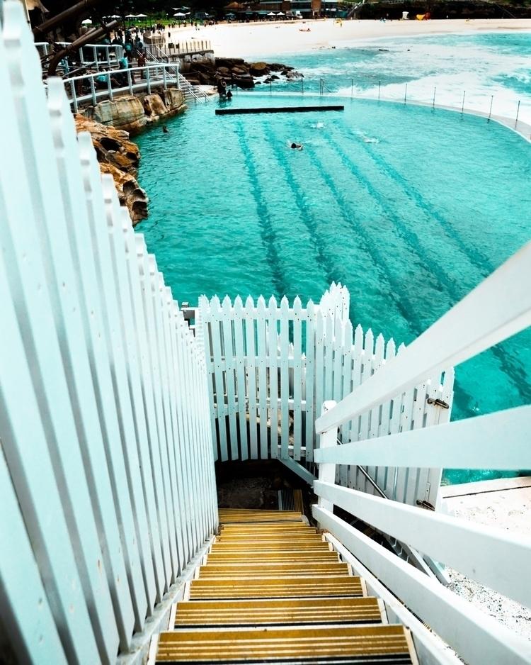 Bronte pool - staircase heaven - alecbaker | ello