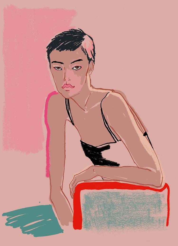 Pose - Fashionillustration - eunjeongyoo | ello