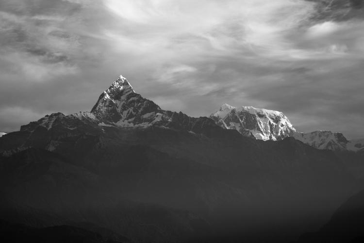 Mountain Series Machapuchare An - alexreigworks | ello