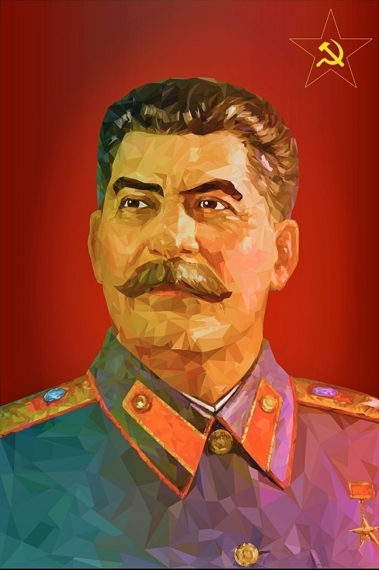 Joseph Stalin Vector Illustrati - warrior6124 | ello