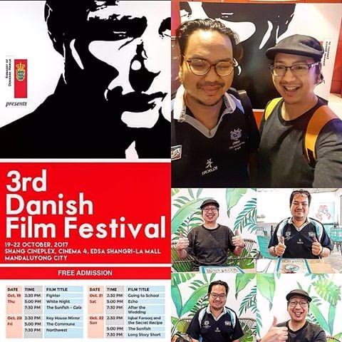 Attending brother Joepet - DanishFilmFestival2017 - vicsimon | ello