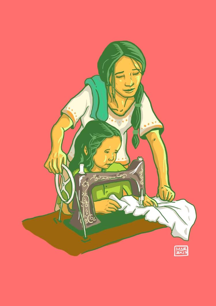 mother child series. Hope <3 - angmaarte | ello