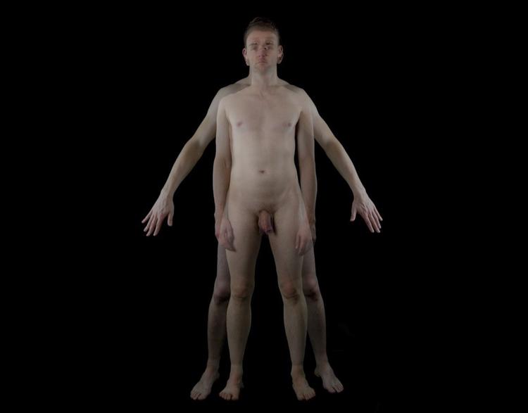 Gaytruvian man symmetrical. buy - daveandrewskinner | ello