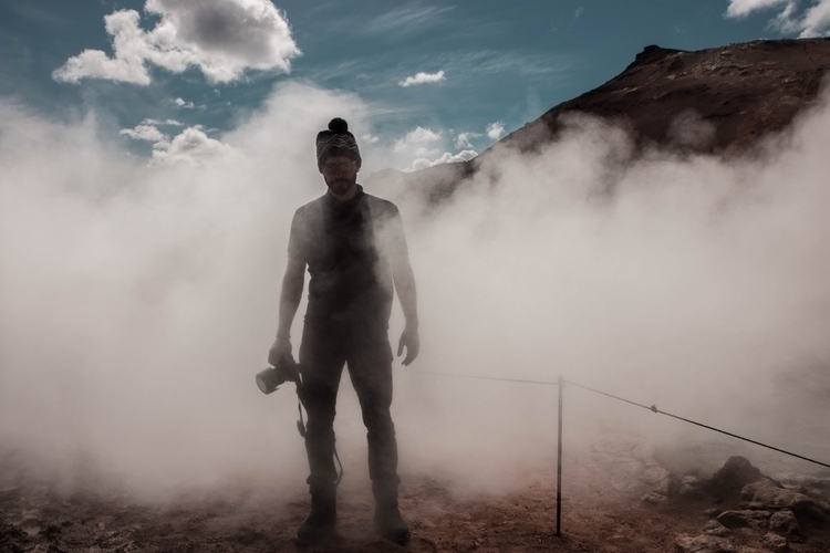 Smokey iceland - photography, canon - joanvillalon | ello