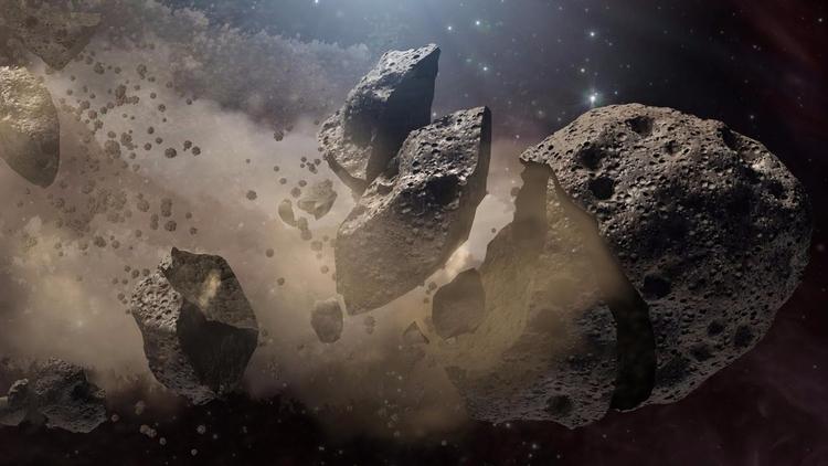 Hay probablemente menos asteroi - codigooculto | ello