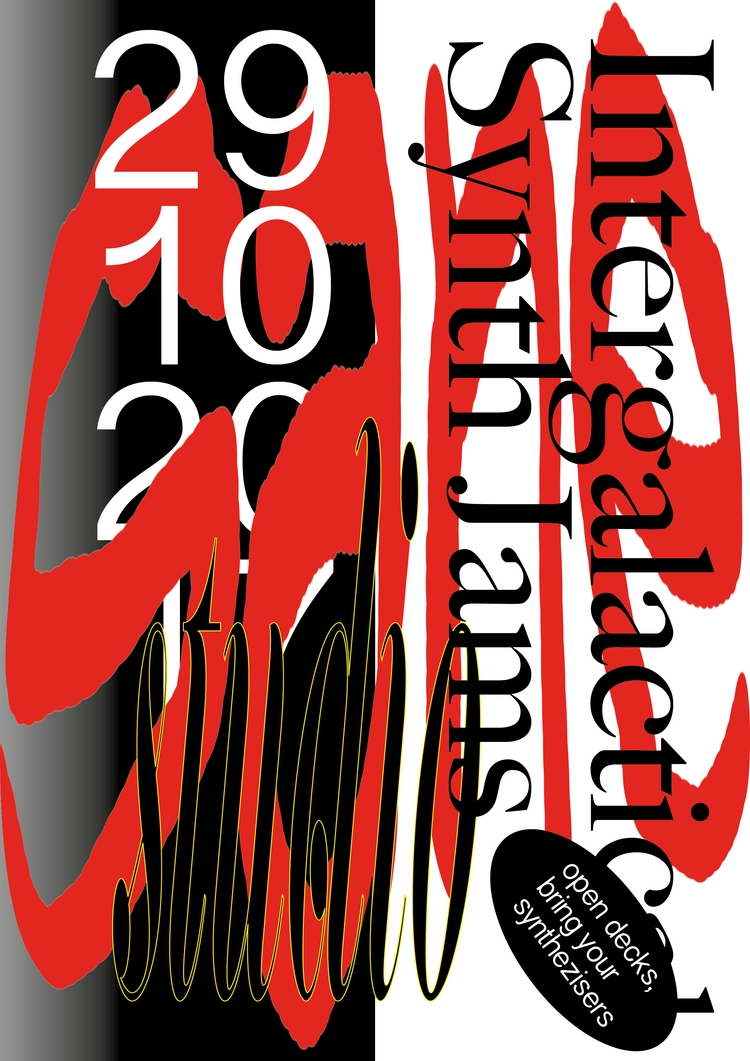 horror themed poster jam sessio - fabiantombers | ello