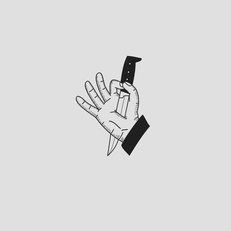 hand, knife - wait-what | ello