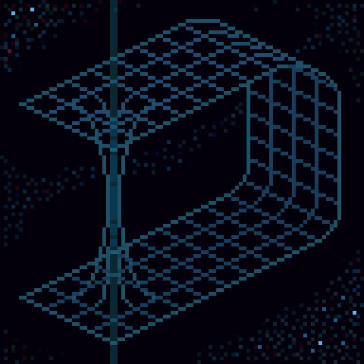 Wormhole - pixelart, dotpict, 8bitart - toishitech | ello