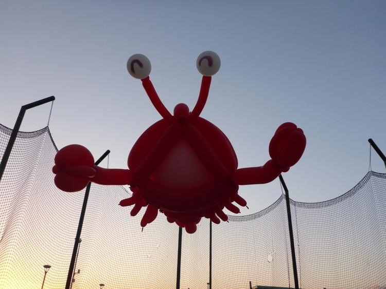 lobster, langosta, balloons, balloonart - balloonski   ello