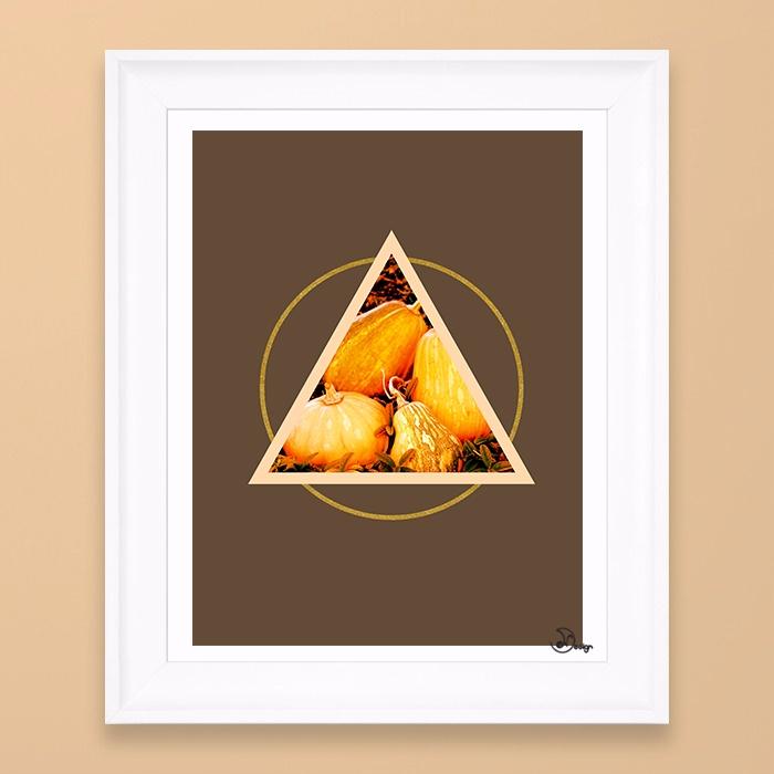 Minimal Pumpkins composition pu - designdn   ello