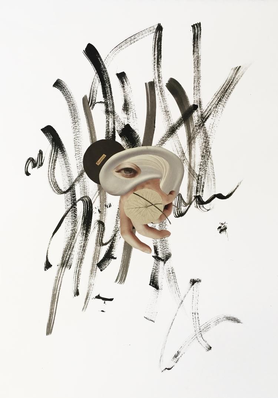 Fugitiva - collage, papercollage - marianagv | ello