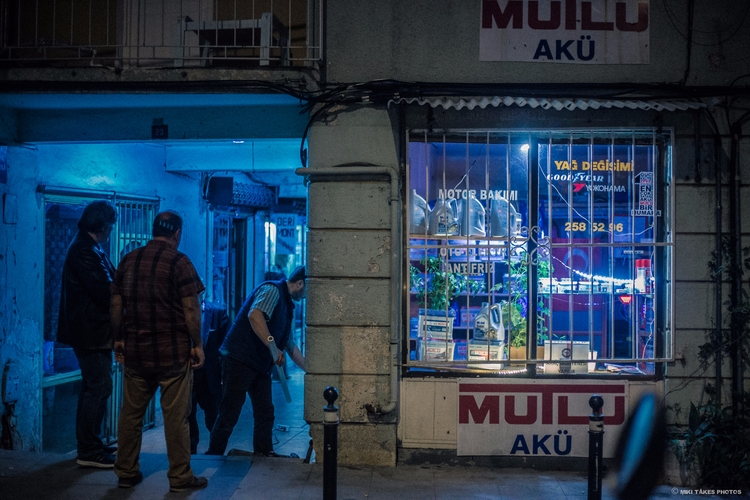 Nighttime Beşiktaş | Istanbul,  - mikitakesphotos | ello