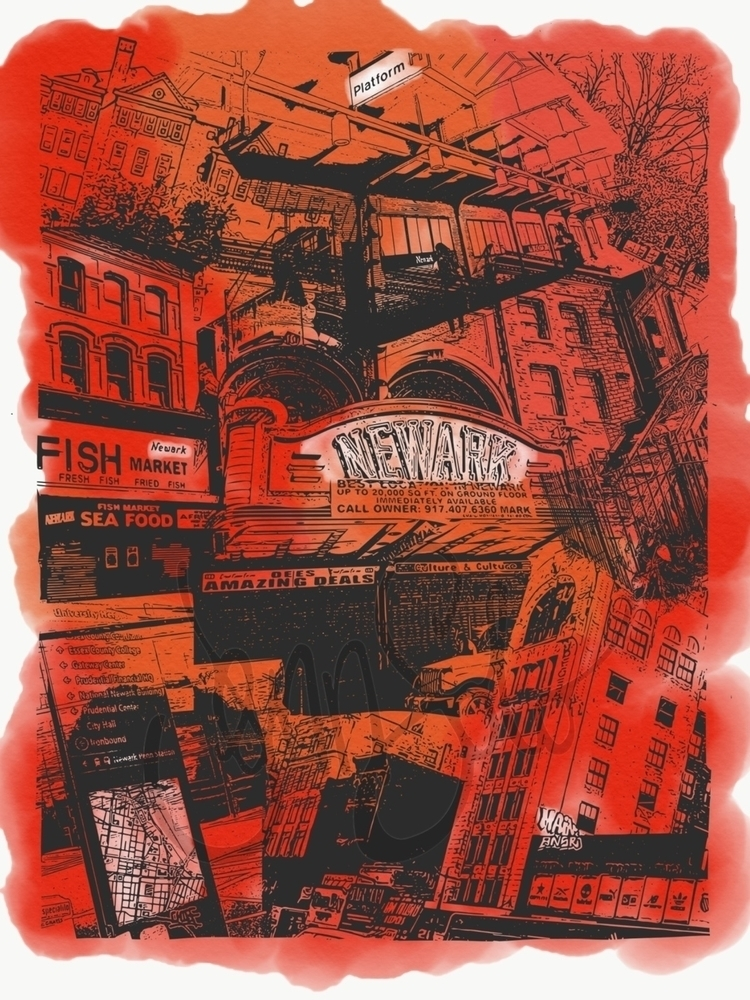 work - Newark, posters - jennsolo | ello