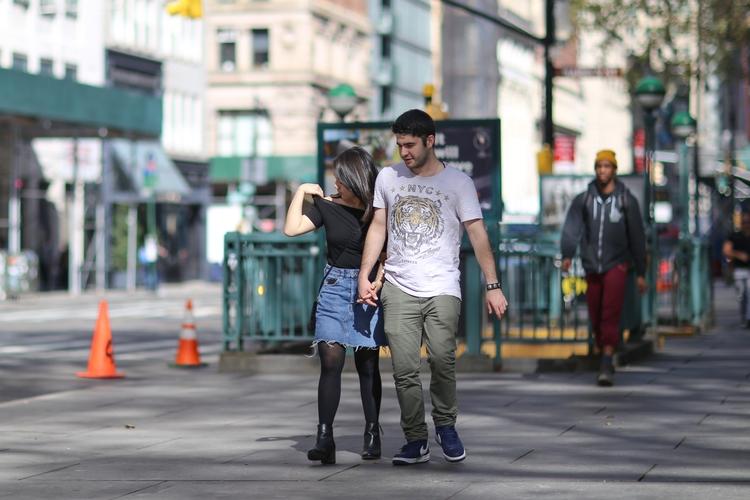 **City Hall** couple walking Ci - kevinrubin   ello