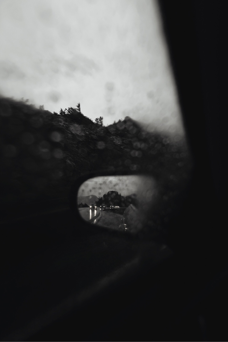 Road trips rain - photogtaphy - chriscauble | ello