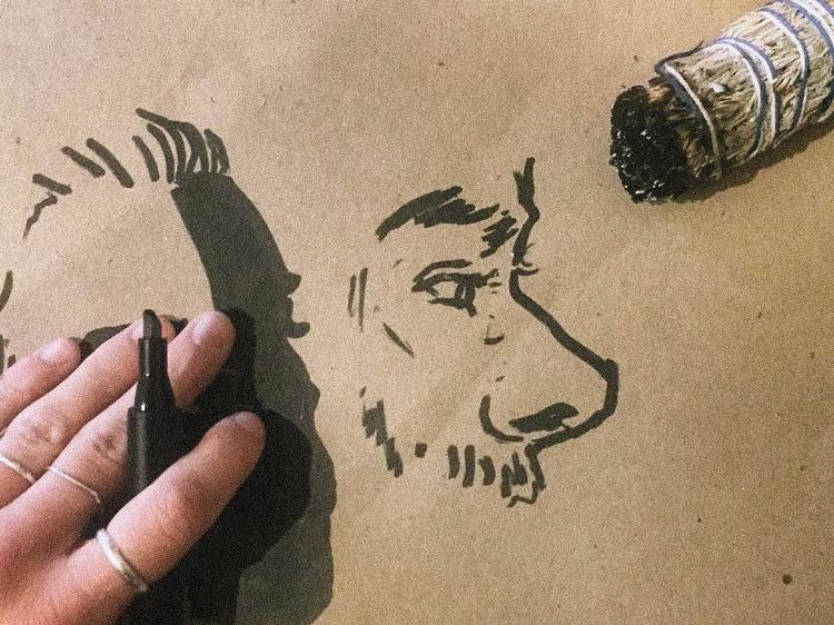 Sketches   - draw, debujar, ink - axregehr   ello