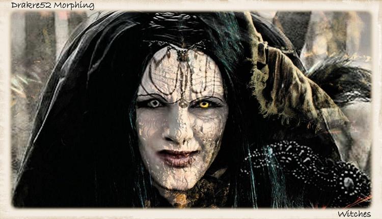 Witches Morphing. Film: Morphin - drakre52 | ello