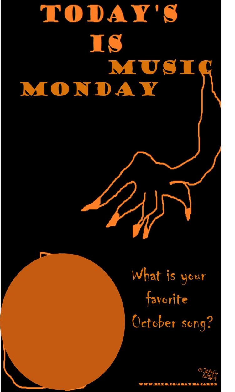 Happy Monday! Music Monday typo - agathacards | ello