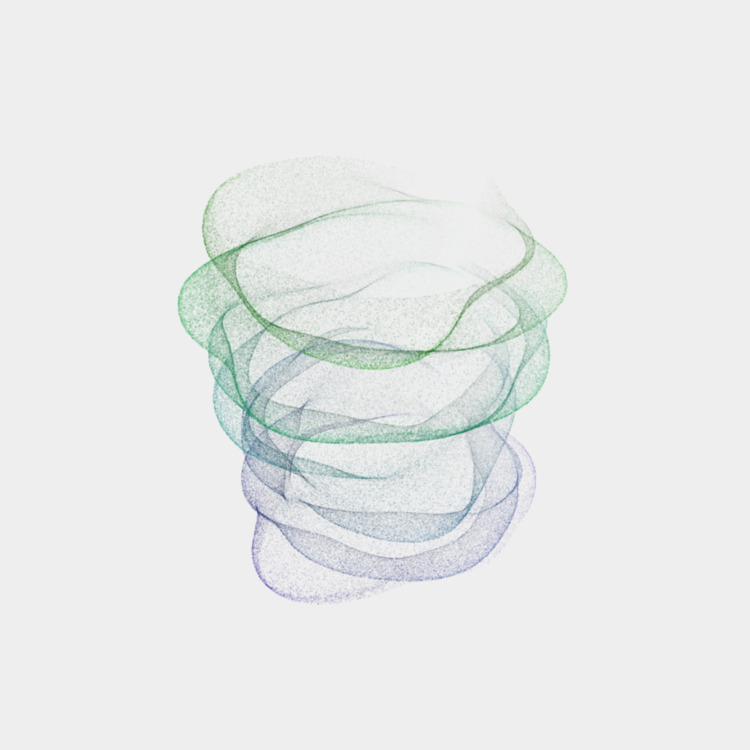 Spectral Vortex 5 - creativecoding - defmech | ello