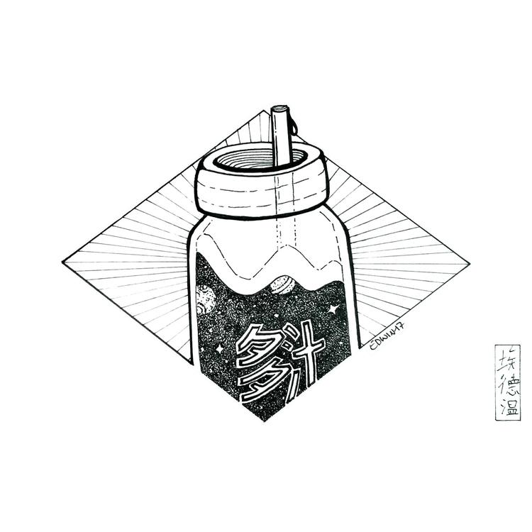 Inktober - Juicy Juice | 23.10 - edwln | ello