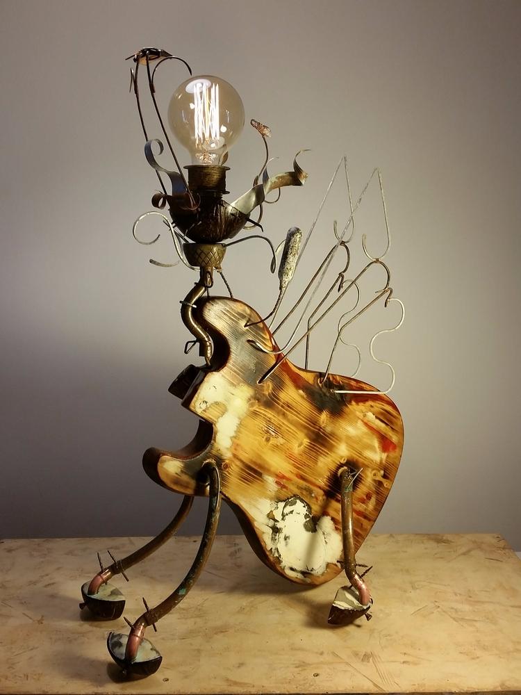 lightning, sculpture, flyingpig - chipamarie | ello