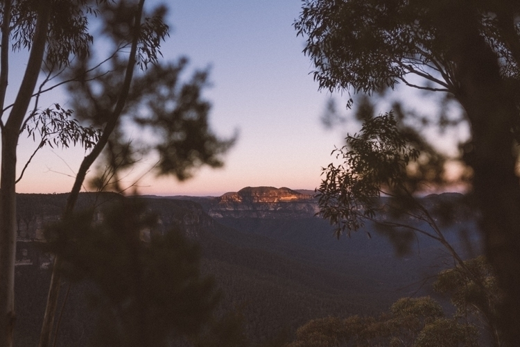 Dusk - thebluemountains, mountains - sjperkins | ello