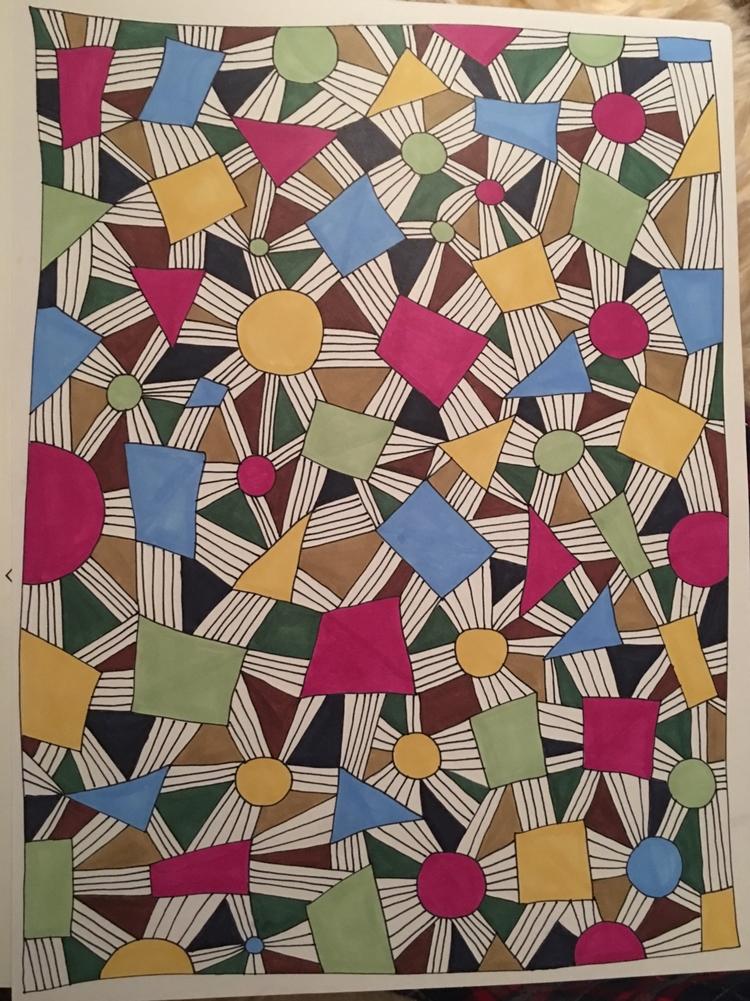 doodles, markerart, prismacolors - jenraphael | ello