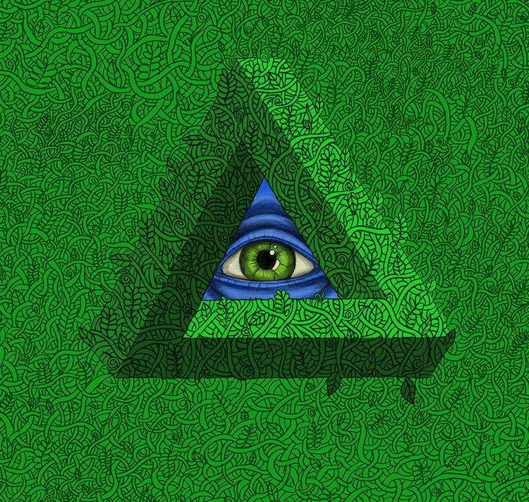 pattern series Penrose eye patt - jesfortner | ello