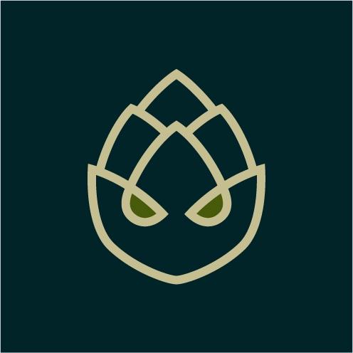 logo design lupulocéfalo (hophe - alexisyasky | ello