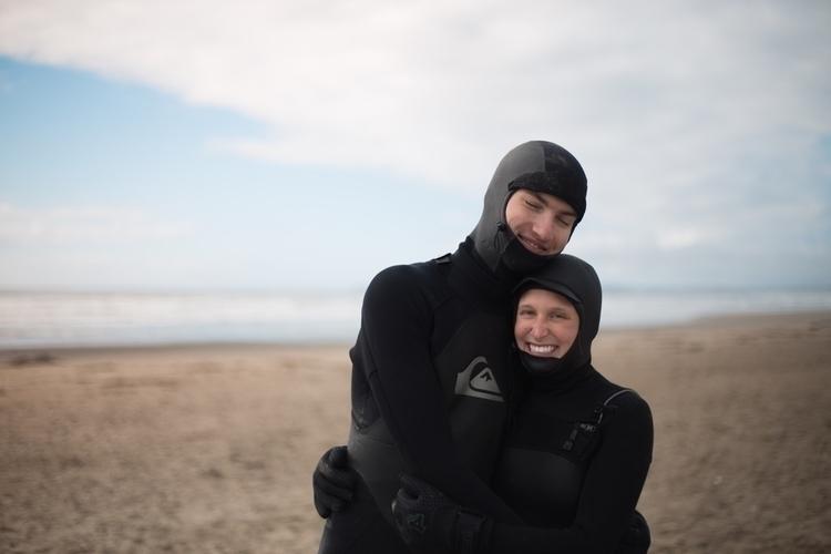 Cutest couple surfing seals - photography - kirschhhh | ello