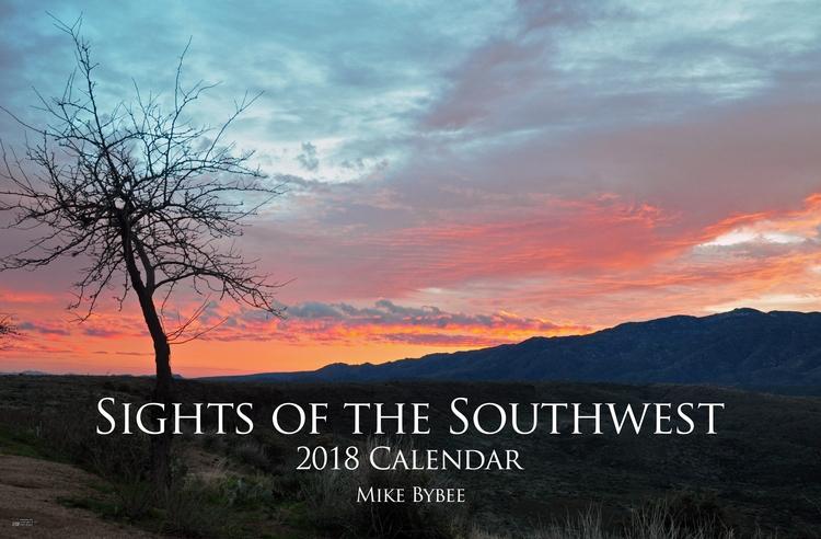2018 calendar - Southwest, Landscape - indieimprint | ello