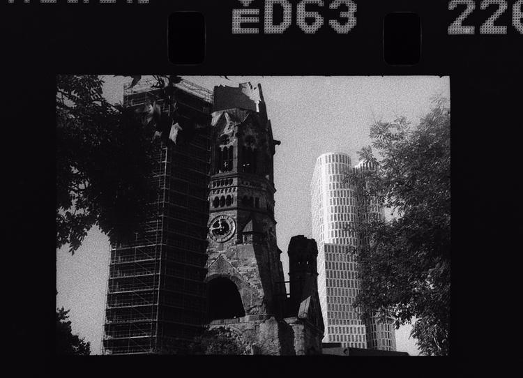 Berlin shot Kodak 7266 - analog - stikka   ello