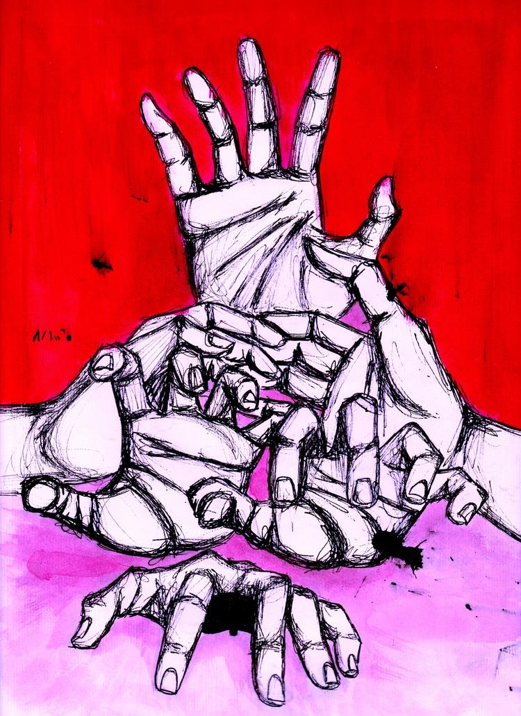 hands story | Arms sea belong w - amandaobara | ello