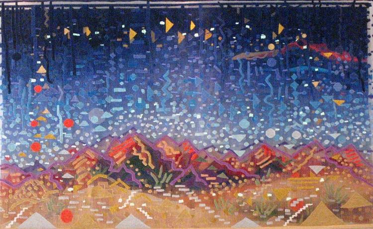 Albuquerque Box tapestry portra - susanklebanoff | ello