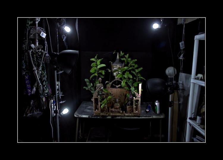Garden late night reset studio  - greycrossstudios   ello